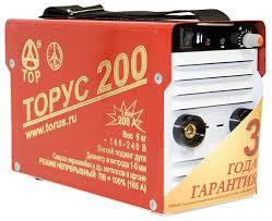 <b>Сварочный аппарат Торус</b> 200 Классик (TIG, MMA) — купить по ...