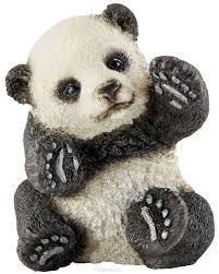 <b>Schleich</b> Фигурка <b>Панда детеныш играет</b> — купить в интернет ...