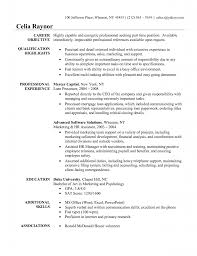 examples of administrative assistant resume examples of administrative assistant resume career objective and qualifications list