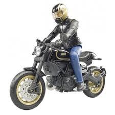 «Внедорожники и мотоциклы <b>Bruder Мотоцикл Scrambler Ducati</b> ...