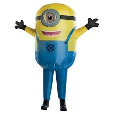 Kids' Despicable Me: Stuart <b>Minion Inflatable Costume</b> One Size ...