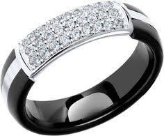 Женские <b>кольца</b> черные – купить <b>кольцо</b> в интернет-магазине ...