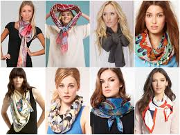 Как красиво <b>завязать шарф</b> на шее поверх куртки: пошагово, фото