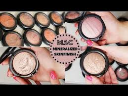 <b>MAC</b> Mineralized Skinfinish Collection 2015 - YouTube