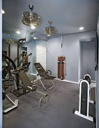 cool ceiling fans home gym contemporary with ceiling fans converted attic baseboards ceiling fan