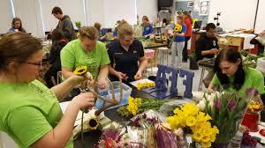 simon kenton high school ffa regional floral design contest the team placed 4th