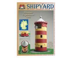 Купить <b>Сборная картонная модель</b> Shipyard маяк Pilsumer ...