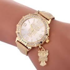 An owl pendant ladies watch Europe and the United States <b>hot</b> ...