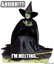 Melting wicked witch memes | quickmeme via Relatably.com