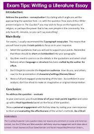 example of a literary essay literary essay examples high school   write essay english the help kathryn stockett response to literature essay example high school literary analysis