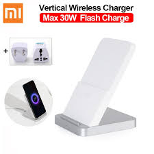 <b>Xiaomi Vertical</b> Air-cooled Wireless Charger <b>30W</b> Max with Flash ...
