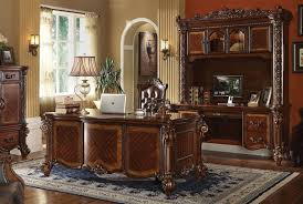 vendome 3 piece home office set in cherry finish by acme 92125 s cherry office furniture