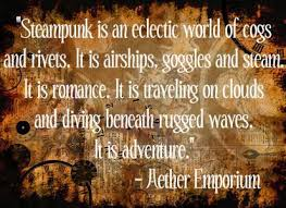Image result for steampunk quotes