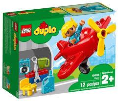 Купить <b>Конструктор LEGO Duplo</b> 10908 <b>Самолёт</b> по низкой цене ...