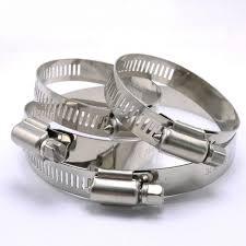 <b>4PCS</b>/<b>LOT high quality 304</b># Stainless Steel hose Clamp Pipe tube ...