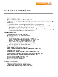 teachers resume example sample preschool teacher resume example for teachers resume sample for teaching
