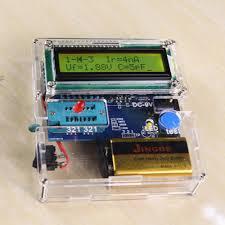 Multifunctional <b>Transistor</b> Tester DIY Kit Resistor Capacitor Triode ...