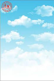 KIDS <b>BLUE SKY</b> CLOUDS BABY <b>BACKDROP BACKGROUND</b> ...