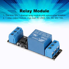 <b>2pcs 5V 1</b>-<b>Channel</b> Relay Module with Optocoupler Low Level ...