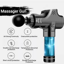 Vibration <b>Fascia</b> Gun Fitness Equipment <b>Massage Gun Muscle</b> ...