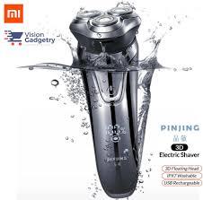 Xiaomi Soocas <b>Pinjing</b> So White ES3 3D <b>Electric Shaver Razor</b> ...