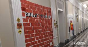 Children were told to 'build the wall' at White House <b>Halloween party</b>