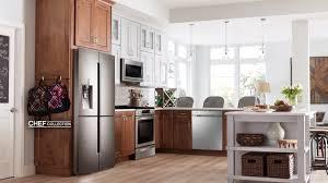 black appliance matte seamless kitchen:   kitchen