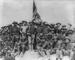 the war of and the u s filipino war peace history the n presence is absent in this iconic photograph of roosevelt and the rough riders