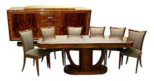 art dining room furniture of well art deco dining room sets home and cool art deco dining