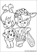 Small Picture The Flintstones coloring pages on Coloring Bookinfo