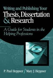 Selected Books from Amazon com Writing and Publishing Your Thesis  Dissertation  and Research   A Guide for Students in the Helping Professions