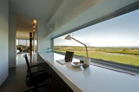 brilliant office design ideas modern style desk overlooing natural landscape great office decorating apply brilliant office decorating ideas