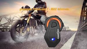 coupon, gearbest, <b>gocomma Freedconn T</b> - MAX Motorcycle ...