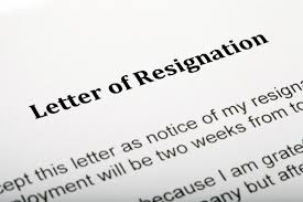 dealing resignations during disciplinary processes peninsula uk