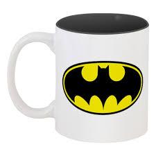<b>Кружка цветная внутри</b> Batman #430617 в Москве – купить <b>кружку</b> ...