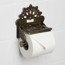 toilet paper holder reserve bronze image