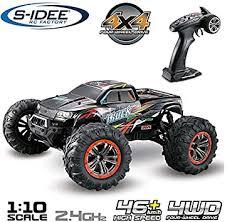 s-idee® 18173 <b>9125</b> RC car, <b>1:10</b> 4WD buggy, waterproof monster ...