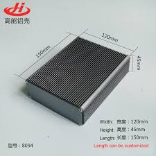 <b>Heat sink Aluminum Enclosure</b> Box PCB Instrument Box DIY ...