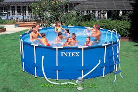 <b>intex</b> 56946 - Бассейн каркасный <b>457х122см Metal Frame</b> Pool Set