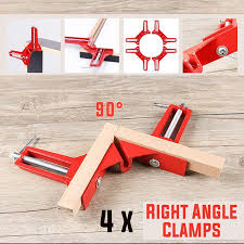 <b>4Pcs 90 Degrees Right</b> Angle Corner Clamp, Miter Picture Frame ...