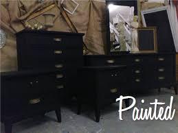 vintage painted bedroom set black painted bedroom furniture