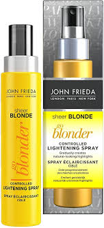<b>John Frieda</b> Lightening Spray for <b>Blonde</b> Hair, 100ml: Amazon.co.uk ...