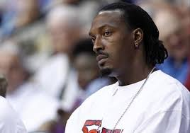 Sep 19, 2012; Uncasville, CT, USA; Charlotte Bobcats center Gerald Wallace watches during the second half of a game between the Connecticut Sun and the ... - Gerald-Wallace-e1348372102135