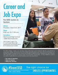 2017 career and job expo flyer new jpg 2017 career and job expo flyer new sisd college