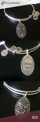 best ideas about bracelets meaning nwt alex and ani mom bangle brand new tags rafaelian silver bangle