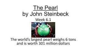 literary essay on the pearl by john steinbeck  literary essay on the pearl by john steinbeck