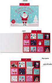 Gertex <b>Ladies</b> Sock Advent Calendar | <b>12 Pairs</b> of Holiday Socks ...