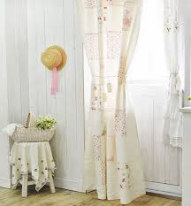 beautiful shabby chic living room curtains and on wall chic living room curtain