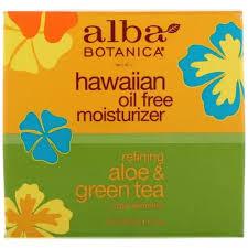 Alba Botanica <b>Hawaiian Oil Free Moisturizer</b> Refining Aloe&Green