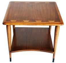 mid century lane side table  chairish